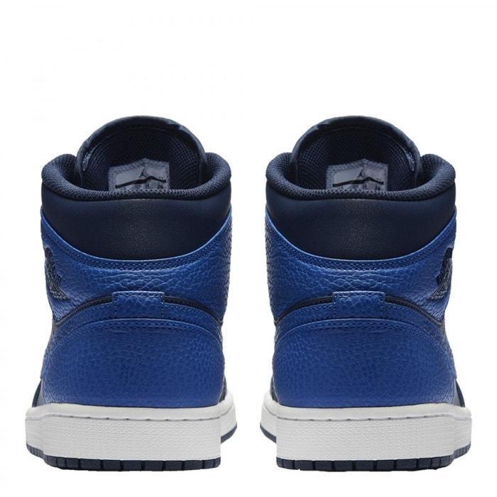 Baskets nike air jordan 1 mid - 554724412 bleu Nike