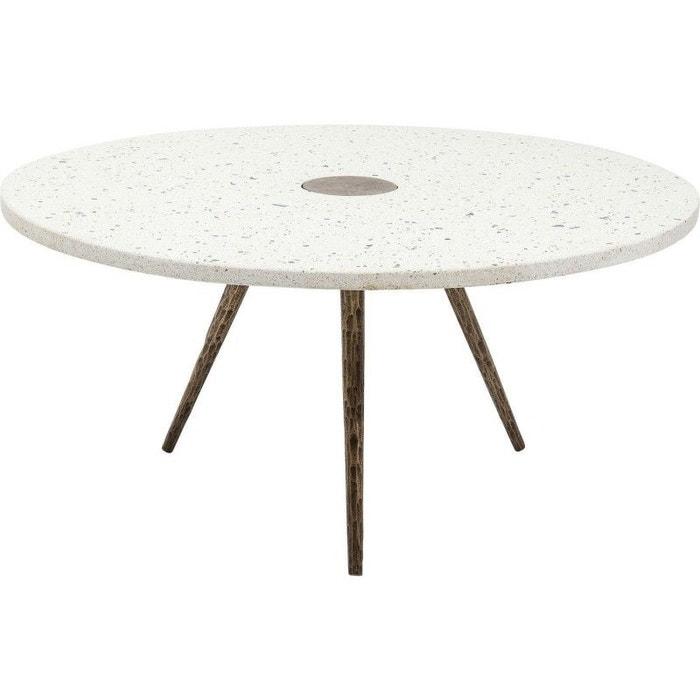 Table basse Terrazzo blanche 92cm Kare Design  KARE DESIGN image 0