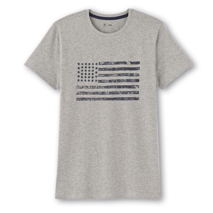 afbeelding Bedrukt T-shirt met ronde hals en korte mouwen La Redoute Collections