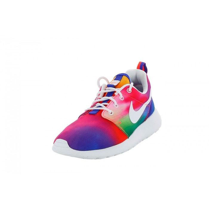 Basket nike roshe run print - 655206-518 violet Nike