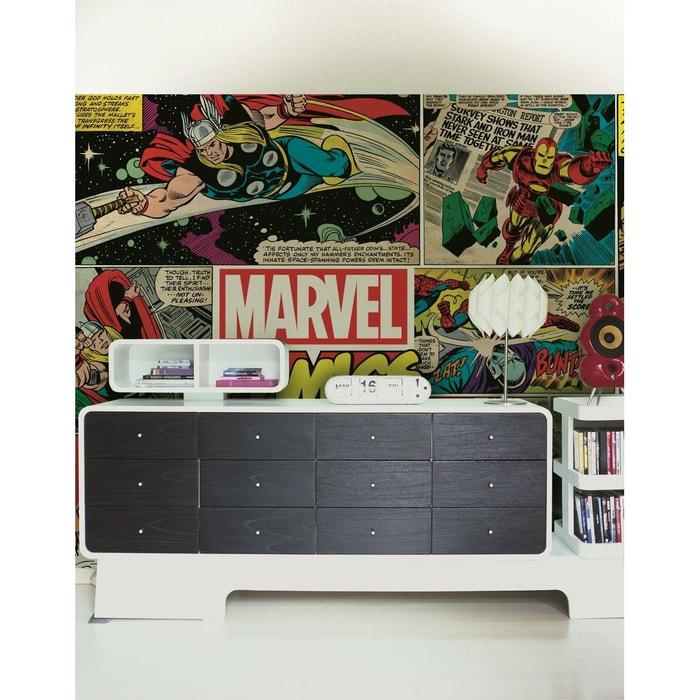 Marvel Comics Papier Peint Déco Intissé Papier Peint Intissé 276x190 Cm  Multicolore Graham Et Brown | La Redoute