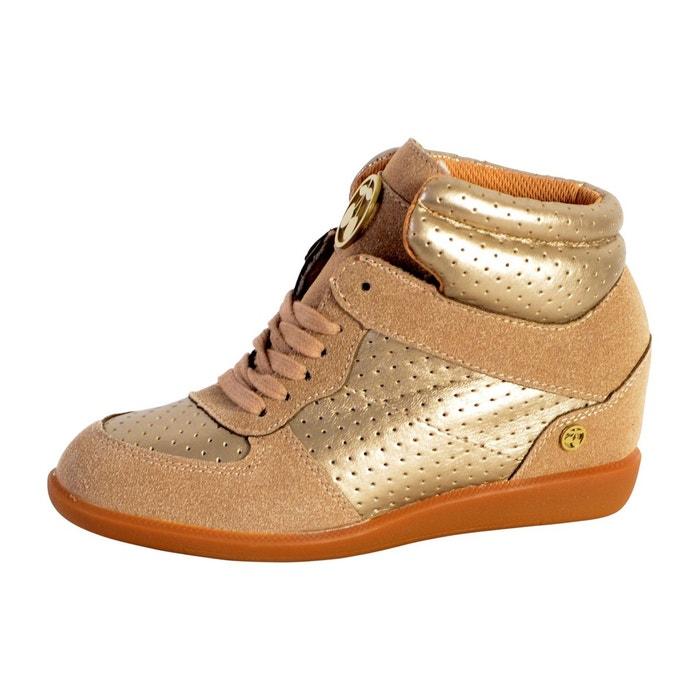 Basket vic h17 perf brown marron Le Temps Des Cerises