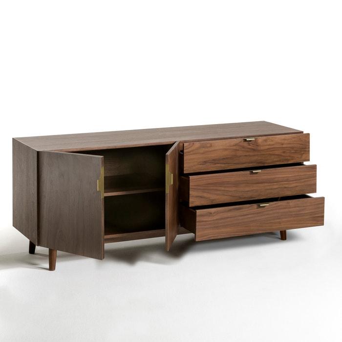 buffet enfilade lucrete am pm noyer la redoute. Black Bedroom Furniture Sets. Home Design Ideas