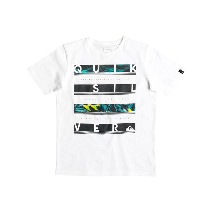 T-shirt de gola redonda, mangas curtas  QUIKSILVER image 0