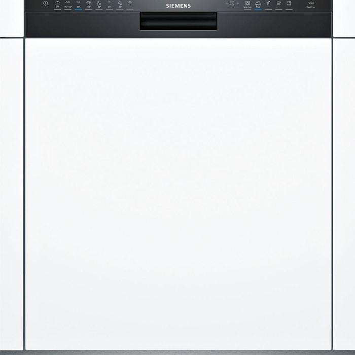 Lave vaisselle int grable sn558b02me noir noir siemens la redoute - La redoute lave vaisselle ...