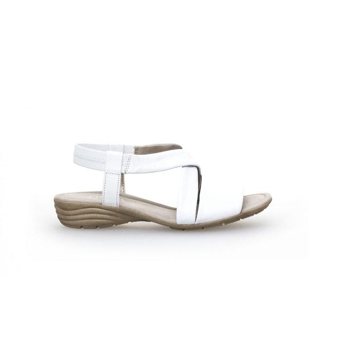 Sandales  blanc Gabor  La Redoute