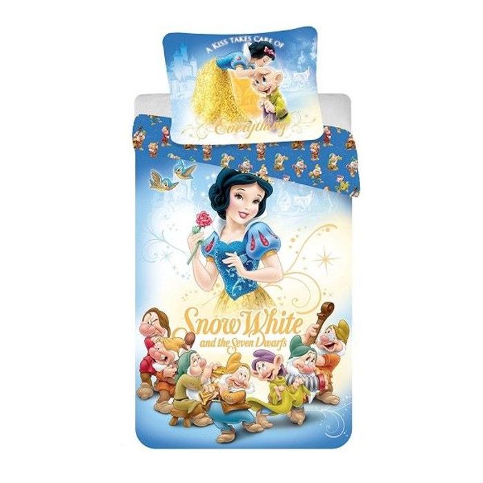 parure de lit princesse blanche neige multicolore disney princess la redoute. Black Bedroom Furniture Sets. Home Design Ideas