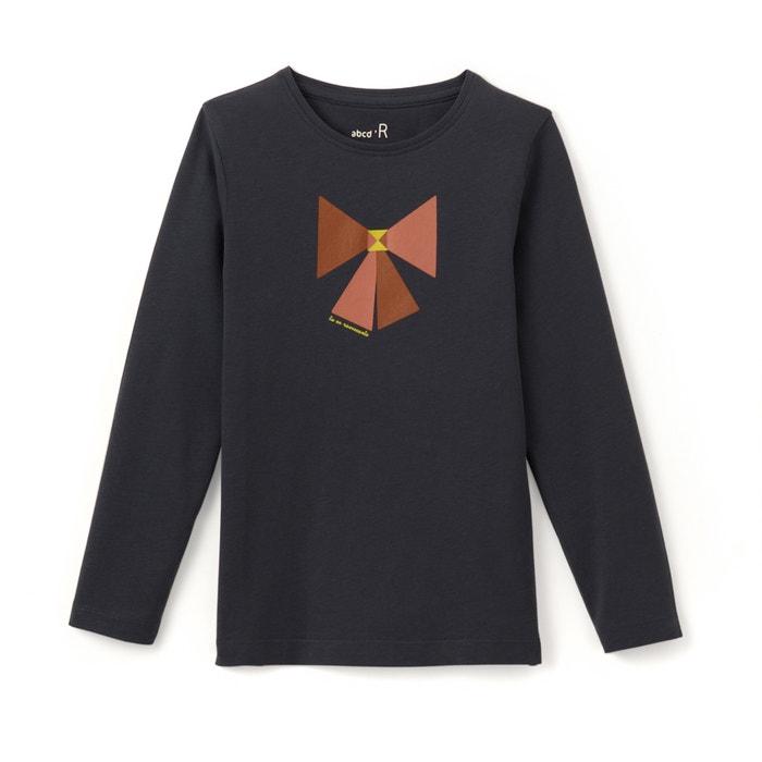 afbeelding Bedrukt T-shirt met lange mouwen 3-12 jr La Redoute Collections