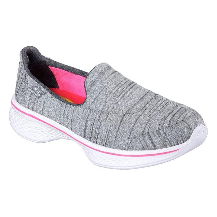 online retailer 245c0 4281d Chaussures de sport à enfiler gris Skechers   La Redoute
