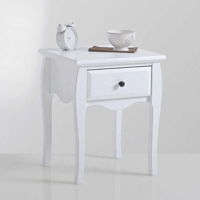 Chevet 1 tiroir lison la redoute interieurs la redoute - Table de chevet la redoute ...