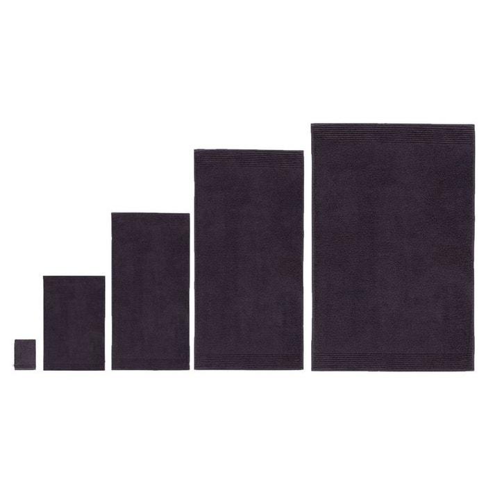 serviette de bain aliz e anthracite gris olivier desforges la redoute. Black Bedroom Furniture Sets. Home Design Ideas