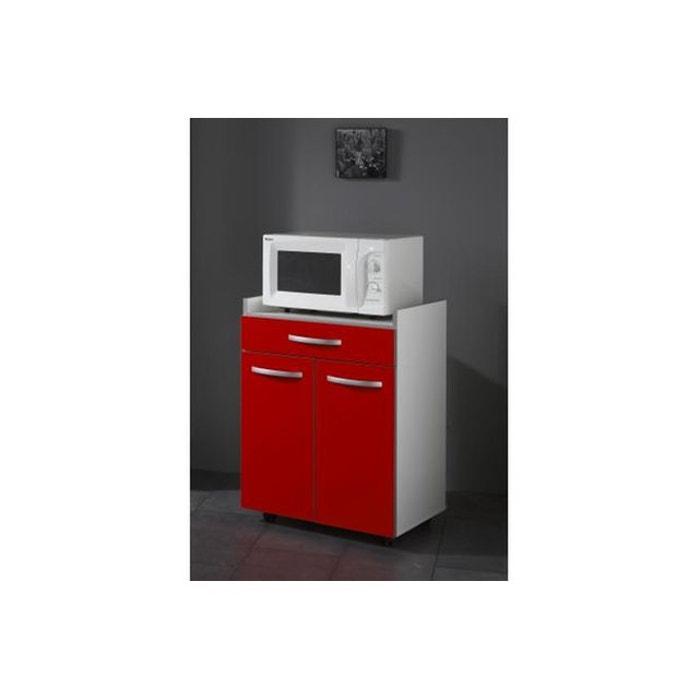 desserte rouge rouge declikdeco la redoute. Black Bedroom Furniture Sets. Home Design Ideas