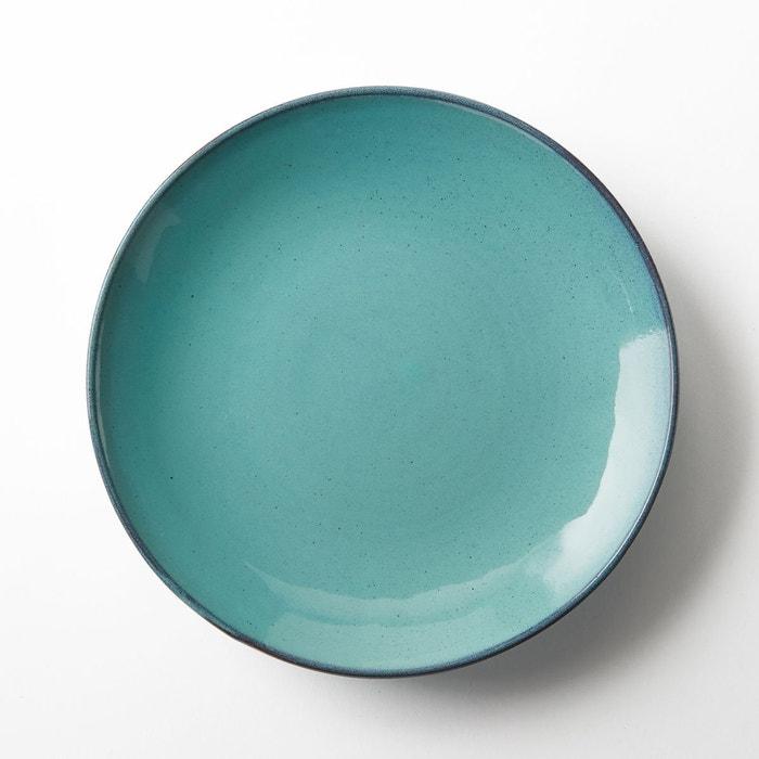 assiette plate en gr s 29 5 cm aqua de serax bleu am pm la redoute. Black Bedroom Furniture Sets. Home Design Ideas