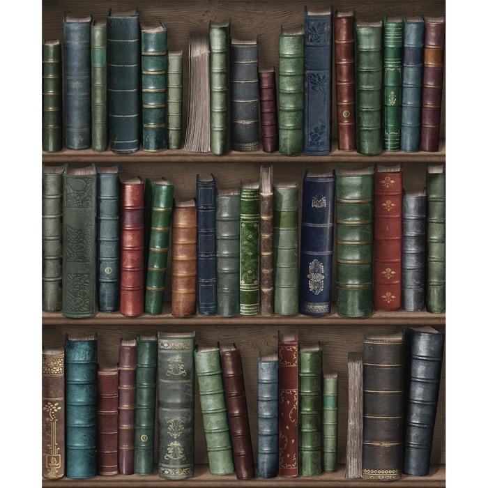papier peint biblioth que oxford multicolore koziel la redoute. Black Bedroom Furniture Sets. Home Design Ideas