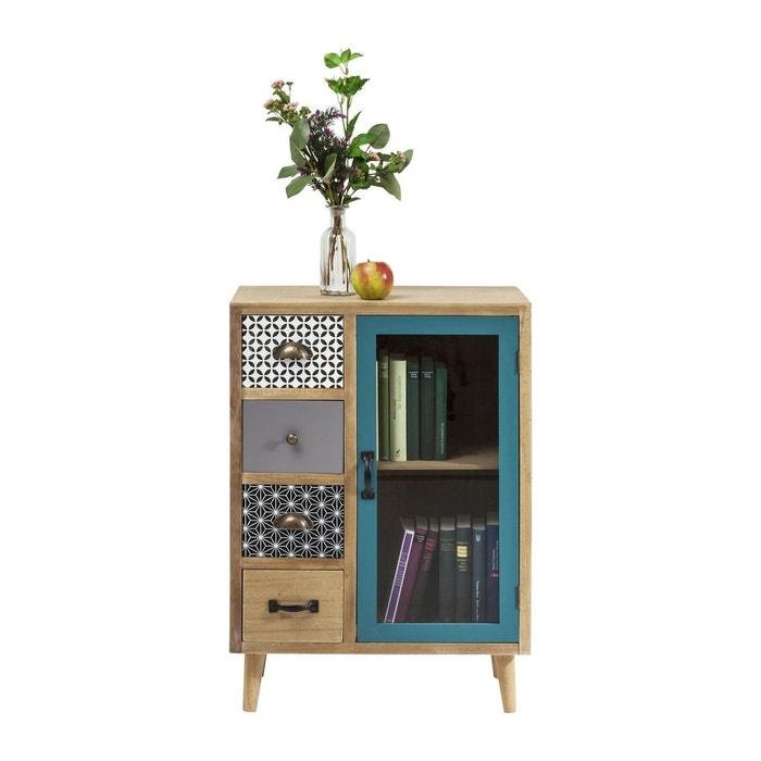 commode haute visible capri kare design bois clair kare design la redoute. Black Bedroom Furniture Sets. Home Design Ideas