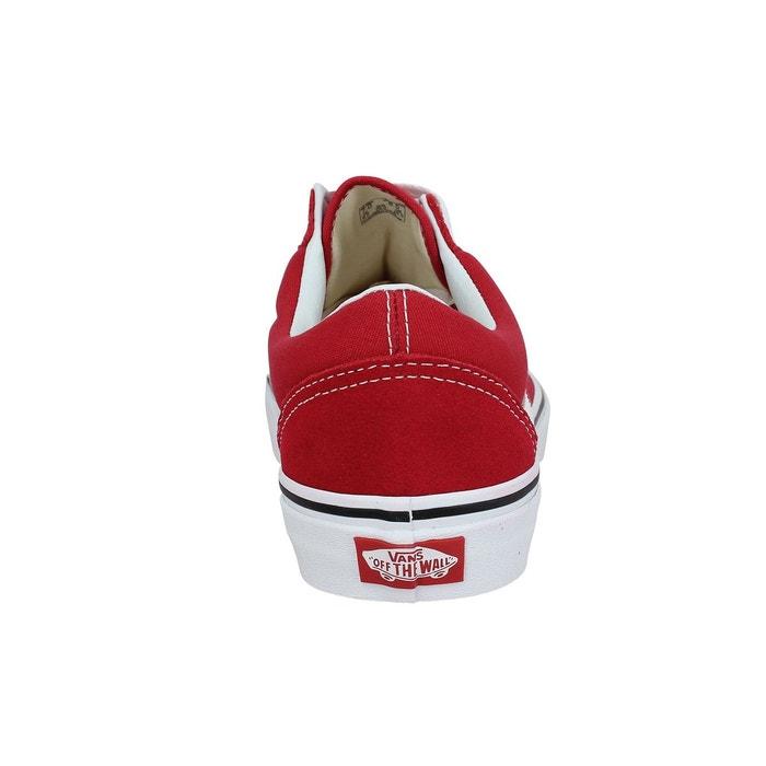 Baskets vans old skool velours toile-41-crimson crimson crimson Vans