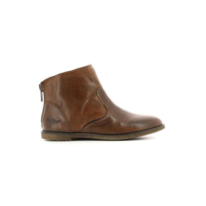 182d2e7ecaa7f Boots cuir enfant roxanna Kickers
