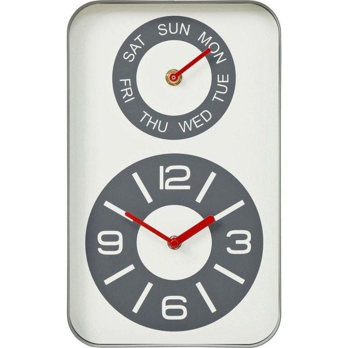 c36924a1c Horloge murale days kare design gris Kare Design | La Redoute