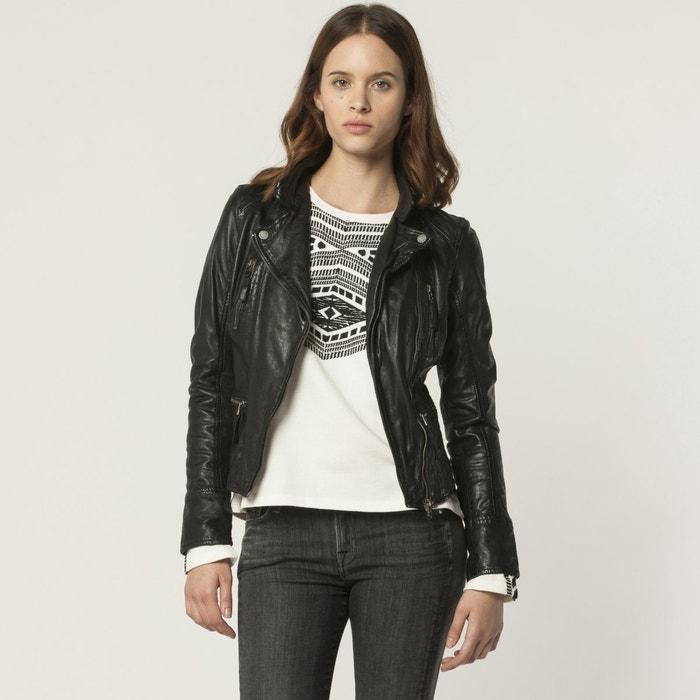 Image Leather Biker Jacket OAKWOOD
