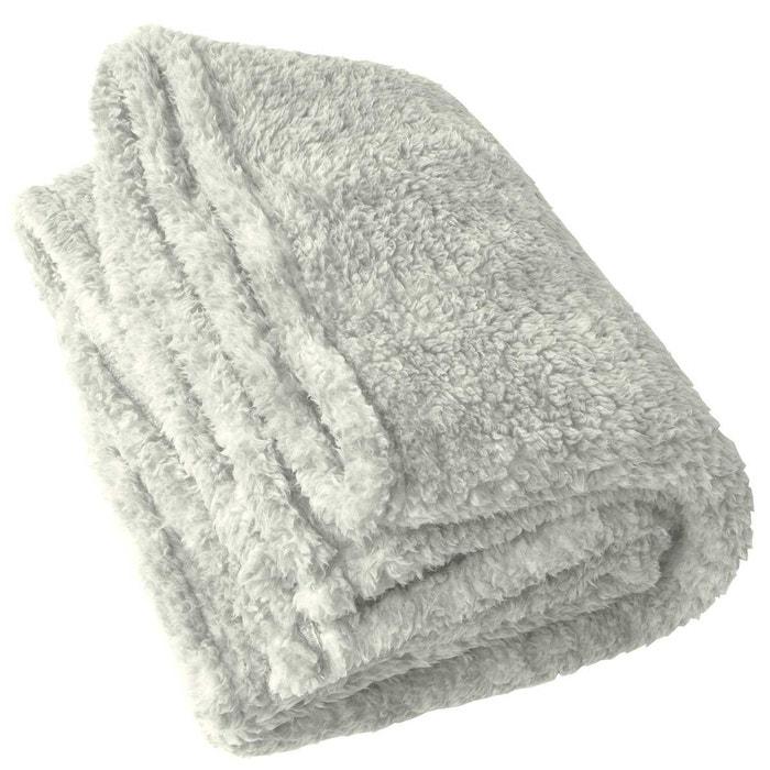 plaid confort effet mouton home maison la redoute. Black Bedroom Furniture Sets. Home Design Ideas
