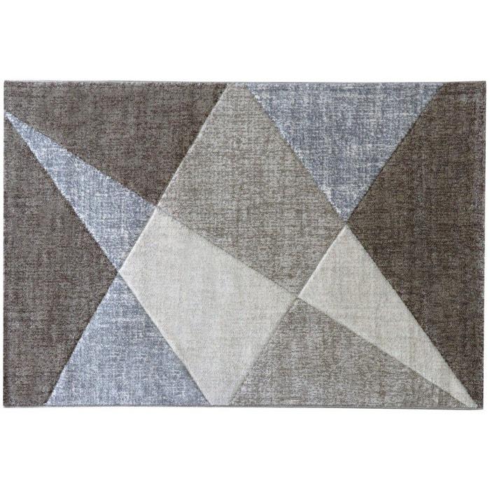 tapis g om trique moderne beige tropez beige allotapis la redoute. Black Bedroom Furniture Sets. Home Design Ideas