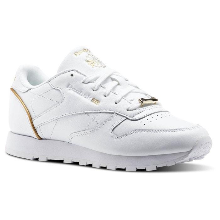 Hw Classique En Cuir - Chaussures De Sport Pour Femmes / Reebok Noir CrqHp