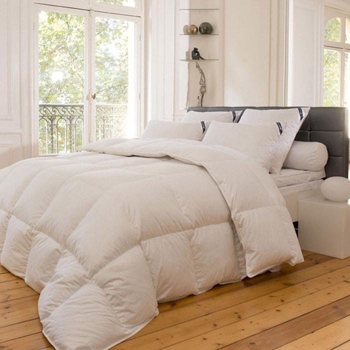 couette naturelle 300gr 90 duvet d 39 oie 10 plumettes groenland blanc sensei la maison du coton. Black Bedroom Furniture Sets. Home Design Ideas