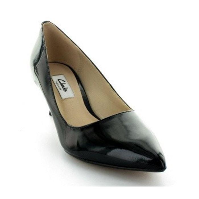 Clarks Escarpins  Aquifer Soda Vernis Noirs Noire - Chaussures Escarpins Femme