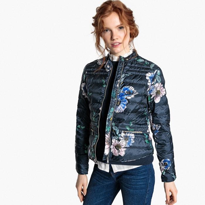 Lightweight Floral Print Padded Jacket  MADEMOISELLE R image 0