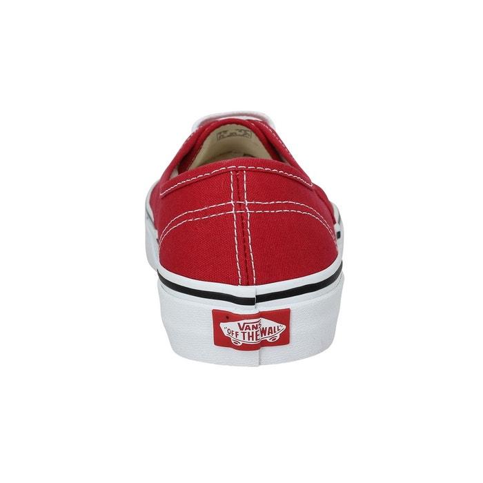Baskets vans authentic toile-41-crimson crimson crimson Vans