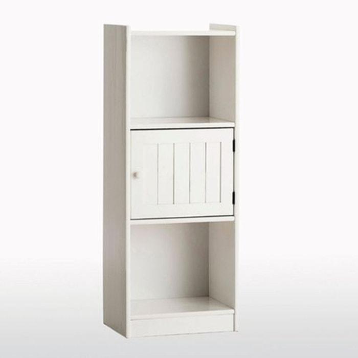 module de rangement pin massif gaby blanc la redoute interieurs la redoute. Black Bedroom Furniture Sets. Home Design Ideas
