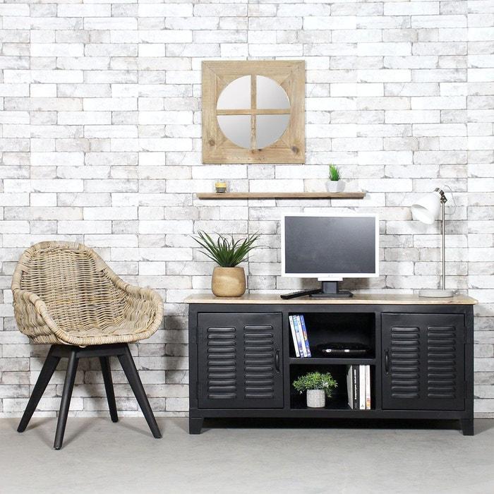 meuble tv - meuble tv design, blanc, d'angle | la redoute - Meuble Pour Telephone Design