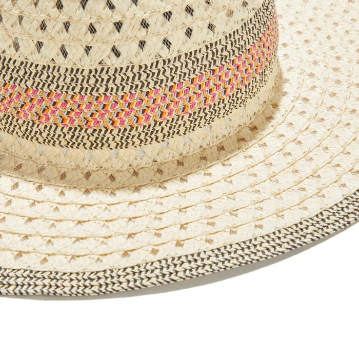 19ff0f6385302 Chapeau pliable La Redoute Collections beige   La Redoute