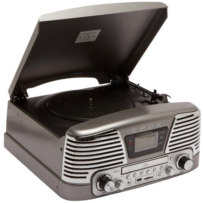 radio cd epok td79gs gris epok la redoute. Black Bedroom Furniture Sets. Home Design Ideas