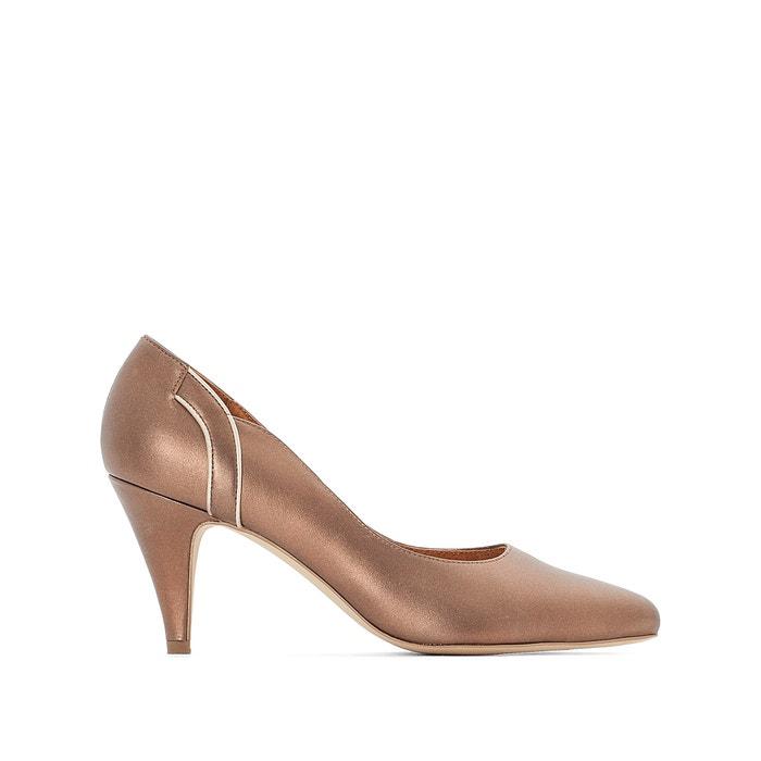 corte de con WEYBURN 243;n de de tac ondulado detalle piel Zapatos ANNE SwWvXOcqX