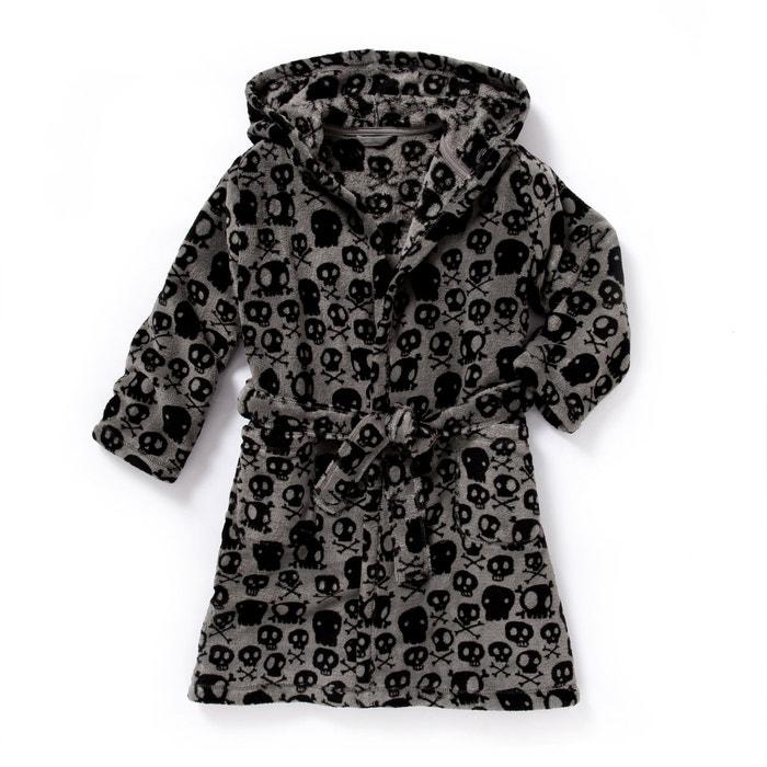 Image Robe de chambre à capuche imprimé 2-12 ans abcd'R