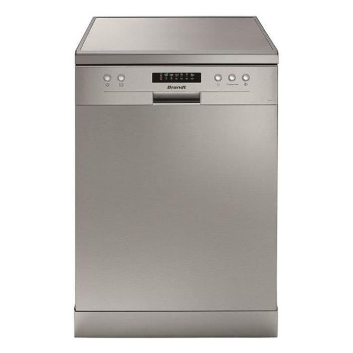 Lave vaisselle brandt dfh13117x silver brandt la redoute - La redoute lave vaisselle ...