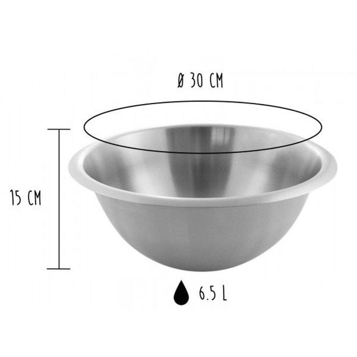 bassine de cuisine matfer 30cm inox matfer la redoute. Black Bedroom Furniture Sets. Home Design Ideas
