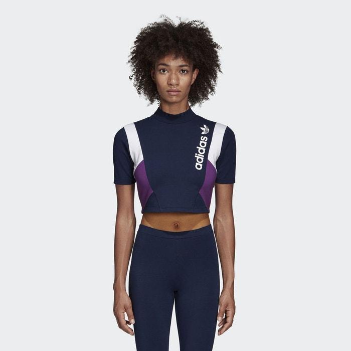 Shirt T Redoute Cropped La Bleu Adidas Originals pd4qdg
