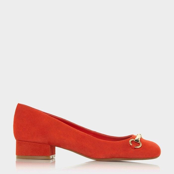 Daim Bout Plates Chaussures À Orange Carré Apricot Abricot Dune Cq0tw