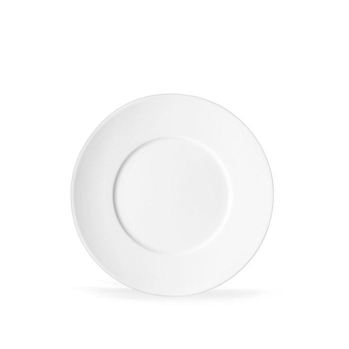 assiette dessert envie blanc blanc medard de noblat la redoute. Black Bedroom Furniture Sets. Home Design Ideas