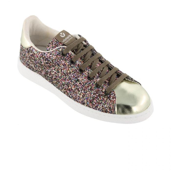 Chaussures deportivo basket glitter multicolore multicolore Victoria