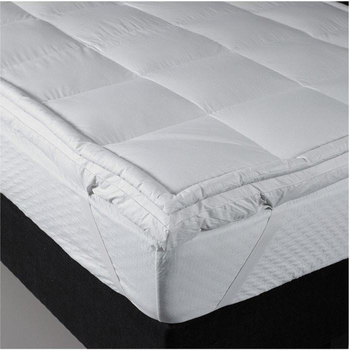 surmatelas bultex confort moelleux plumettes de canard blanc bultex la redoute. Black Bedroom Furniture Sets. Home Design Ideas