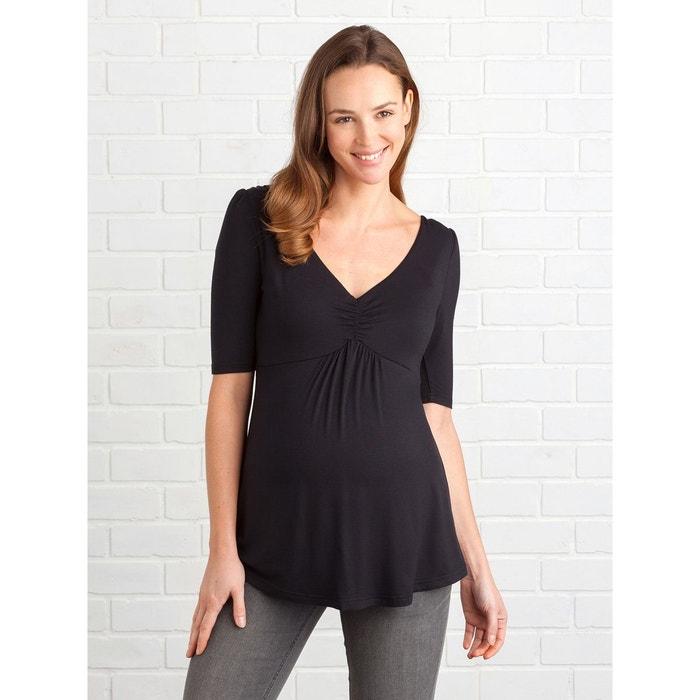 T-shirt froncée grossesse et allaitement VERTBAUDET