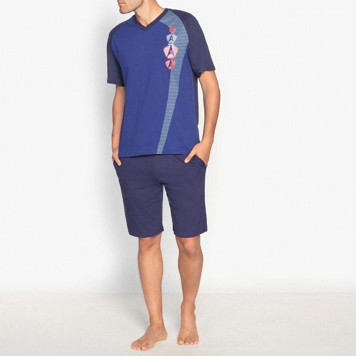 afbeelding Korte pyjama in jersey 100% katoen ATHENA