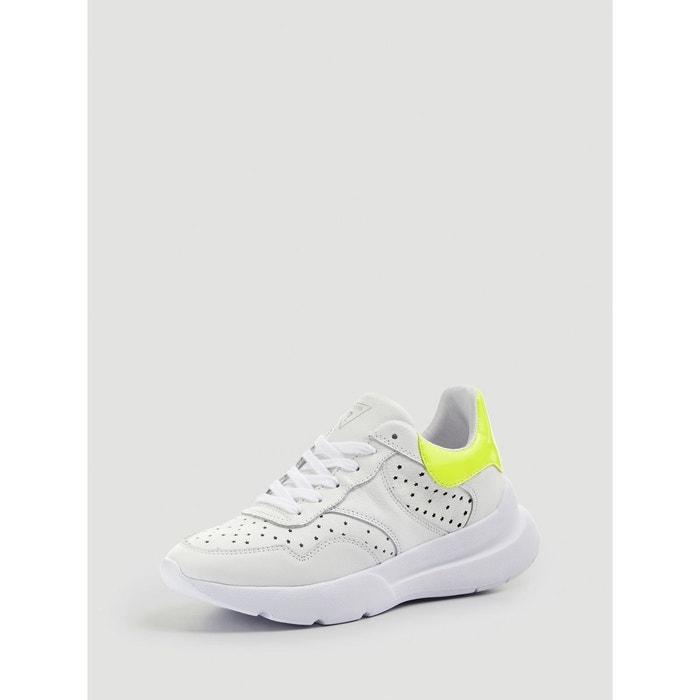 Minca Guess Cuir La Veritable Sneaker Redoute fw8qY8z