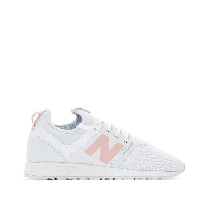 new balance blanc rose