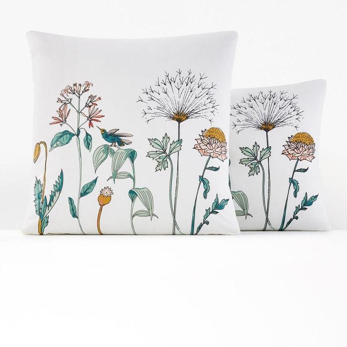 taie d 39 oreiller percale eden garden imprim fleurs la. Black Bedroom Furniture Sets. Home Design Ideas