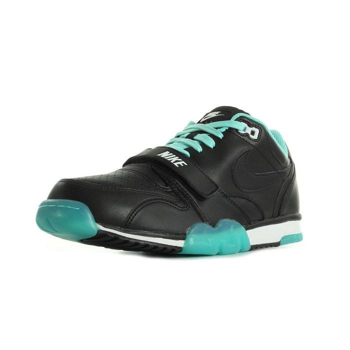 387899663d1384 Basket nike air trainer 1 low - ref. 637995-005 noir, vert d'eau et ...
