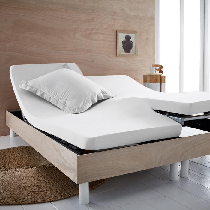 Lenzuolo con angoli jersey puro cotone bio per letto articolato  SCENARIO image 0
